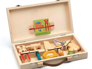 Djeco παιχνίδι ρόλων 'Βαλιτσάκι μάστορα με ξύλινα εργαλεία'