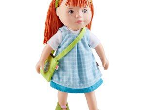 Χάμπα κούκλα με PVC πρόσωπο, άκρα και μαλακό σώμα 'Zora' 32εκ.