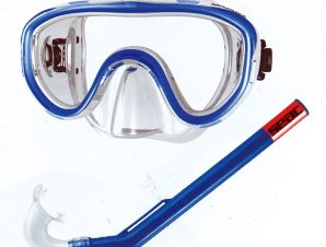 Sport1 Μάσκα κολύμβησης με αναπνευστήρα παιδική