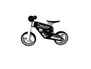 Zenit Ξύλινο Ποδήλατο Ισορροπίας Μοτοσικλέτα Police