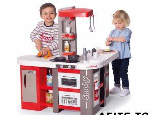 Smoby Ηλεκτρονική ΠΑΙΔΙΚΗ ΚΟΥΖΙΝΑ Tefal studio kitchen XXL,311046