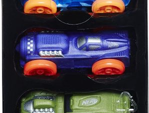 Σετ Αυτοκινητάκια NERF Nitro Foam Car 3-Pack