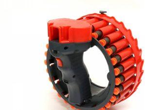 D-Dart Εκτοξευτής Blaster περιστρεφόμενος αυτόματος D-Dart