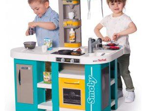 Smoby Παιδική Κουζίνα Smoby Tefal Studio Kitchen XL Bubble – Γαλάζιο